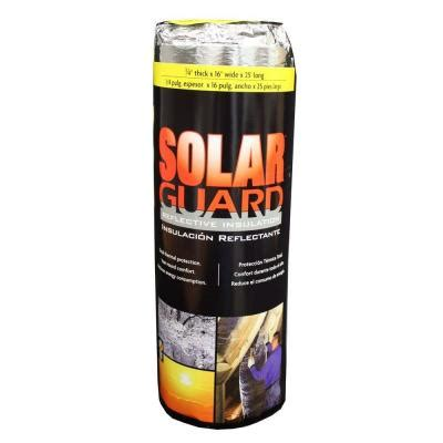 solarguard 16 in x 24 ft reflective radiant barrier