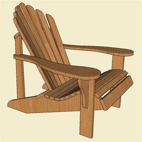adirondack chair plan jackman works