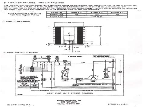 tempstar air conditioner transformer wiring diagrams