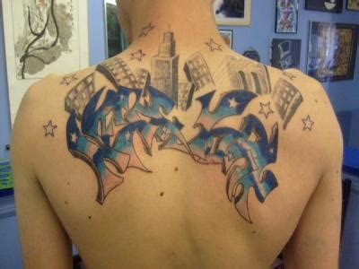 ghetto tattoos designs sci goes skin with graffiti tattoos