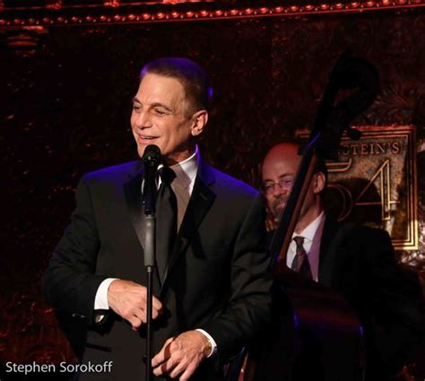 Tony Danza Tells Audience Members To Get The Hell Out by Photo Coverage Tony Danza Debuts Standards Stories At