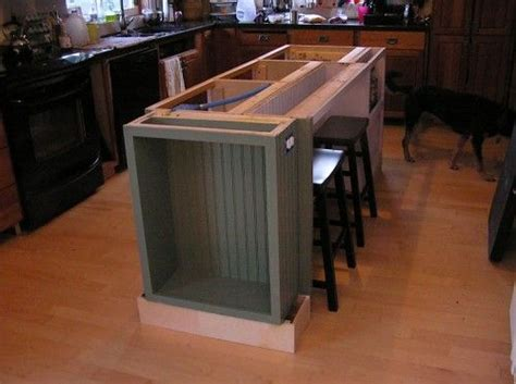 build a kitchen island with seating diy kitchen island with seating 2007
