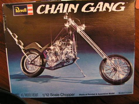 Revell Modell Motorrad by Vintage Choppers Thread Vintage Revell Chain