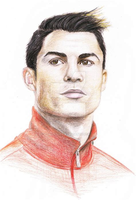 How To Draw Cristiano Ronaldo With Pencil