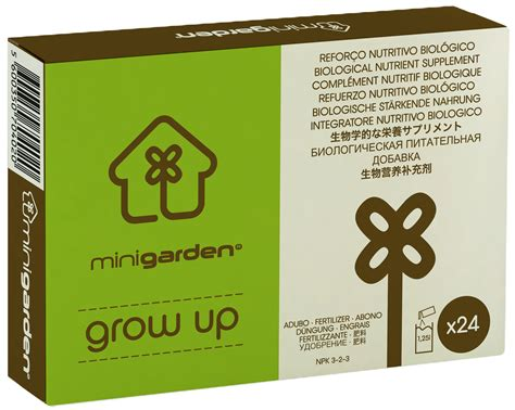 Vitamin Grow Up Minigarden Grow Up Nutrients Bug Plant Supplements