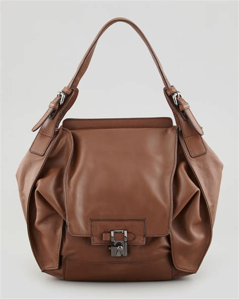 Kooba Devin Shoulder Bag by Lyst Kooba Valerie Flapfront Shoulder Bag Luggage In Brown