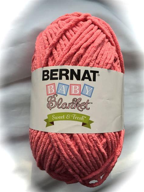 bernat baby blanket yarn colors coral crocus 98002 bernat baby blanket sweet fresh yarn