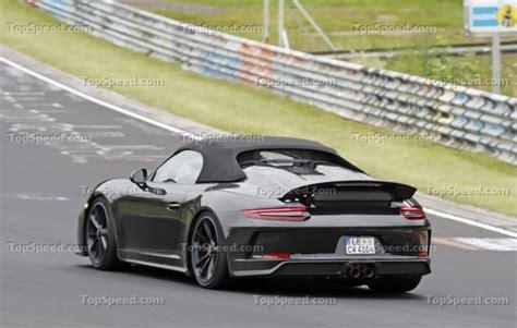 2020 Porsche Speedster by 2020 Porsche 911 Speedster Top Speed