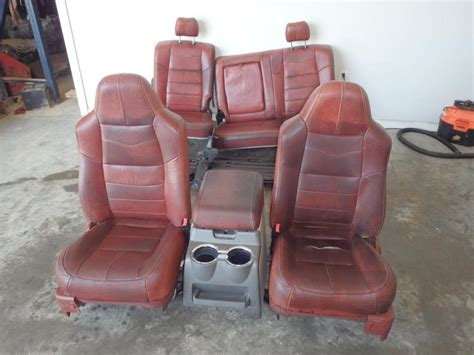 ford duty interior accessories 2008 2010 ford f250 king ranch front rear seats console