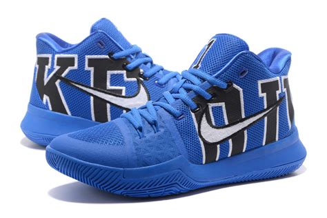 duke basketball shoes for sale nike kyrie 3 duke black royal for sale new