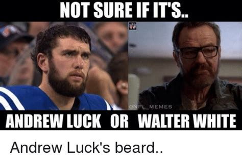 Andrew Luck Memes - 25 best memes about beard football and sports beard football and sports memes