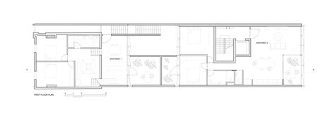 long narrow apartment floor plans boutique apartment building design idea from long narrow