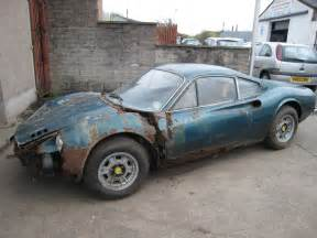 Dino For Sale Needs Restoration 1973 246gt Dino Barn Find Silverstone Auctions