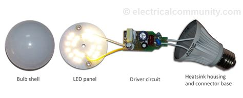 what is led light bulb led light bulbs how do they work electricalcommunity