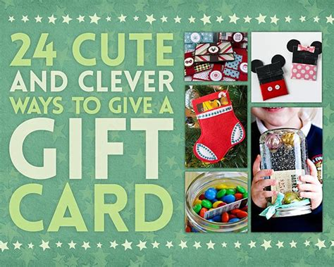 24 cute and clever ways to give a gift card - Cute Ways To Give A Gift Card