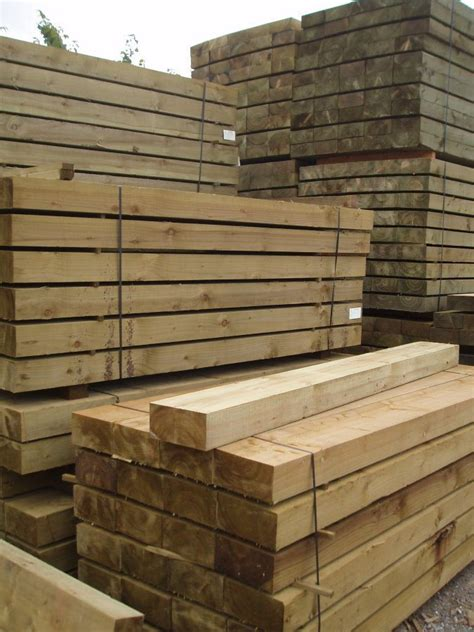 Softwood Sleepers by New Softwood Sleepers Safe For Domestic Use And