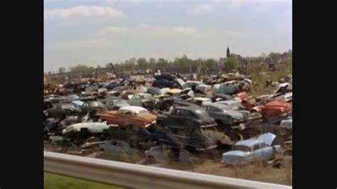 Car Dump Yards by Classic Car Vintage Auto Scrap Yard Of