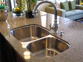 best kitchen faucets for granite countertops best undermount kitchen sinks kohler undermount kitchen