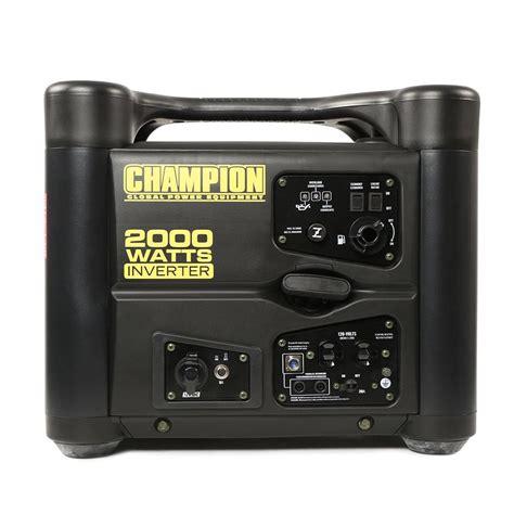 2000 watt portable light cart 115v 2000 watt inverter generator with usb chion