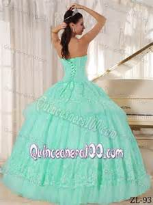 mint color quinceanera dresses kate winslet mint colored sweetheart lace decorate pleated
