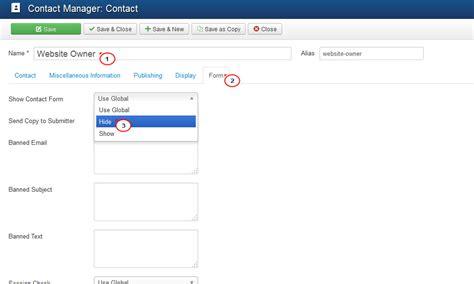 joomla template uninstall joomla 3 x how to remove contact form template help com