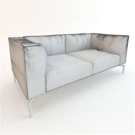 poltrona 3d leather sofa poltrona frau 3d model max fbx cgtrader