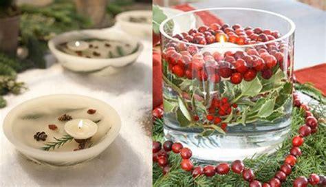 centrotavola di natale con candele centrotavola natalizi con candele fotogallery donnaclick