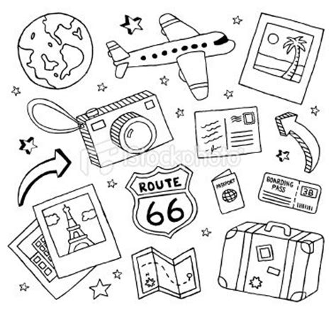 doodle draw theme best 25 travel drawing ideas on travel