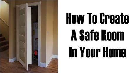 my family survival plan how to create a safe room in your