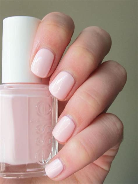 ballet slippers nail essie fiji my favorite light pink from ilona s closet