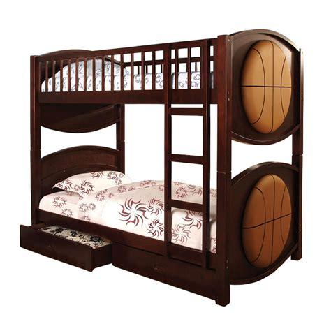 basketball beds venetian worldwide olympic basketball twin over twin bunk