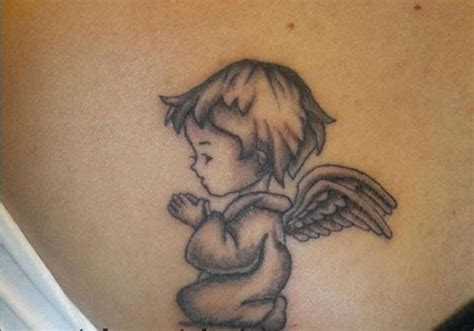 angel baby tattoo baby tattoos 2015