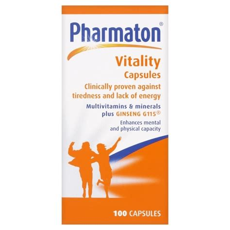 Pharmaton Ginseng pharmaton vitality capsules ebay