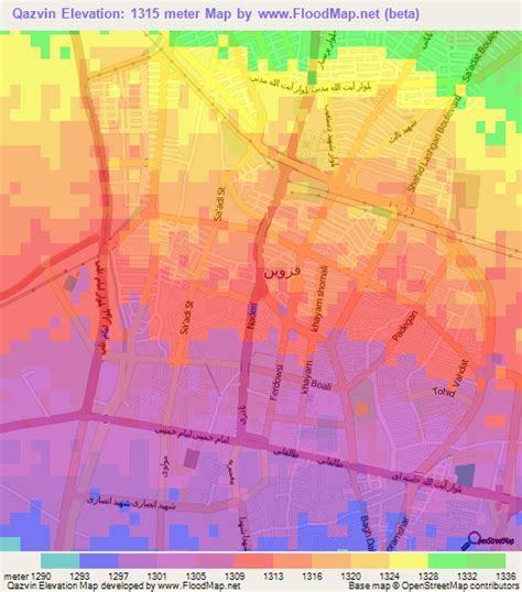 qazvin iran map qazvin iran map images
