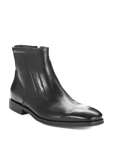 bruno magli boots bruno magli raspino ankle boots in black for lyst