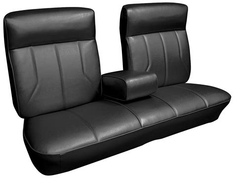 1969 cadillac seat upholstery 1969 deville front split