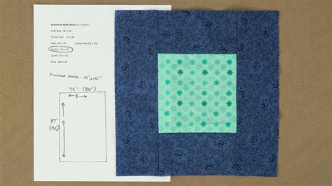 Quilting Fabric Calculator by Quilt Top Fabric Calculation Professorpincushion