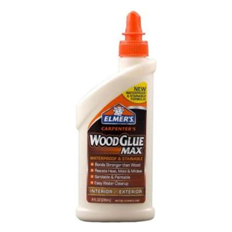 elmer s 8 oz carpenters wood glue max e7300 the home depot
