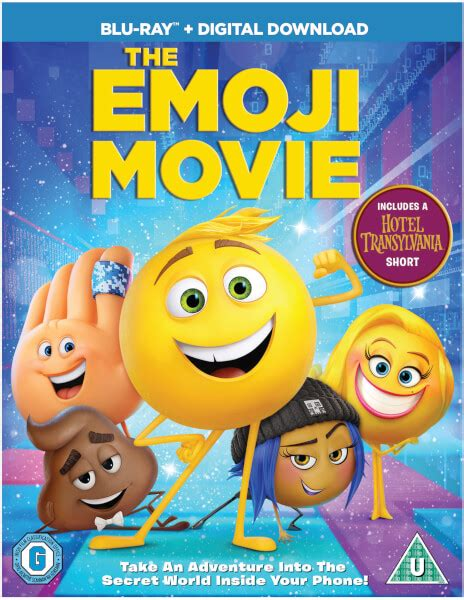 emoji film descriptions the emoji movie blu ray zavvi
