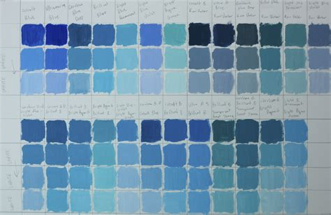 shades of blue color chart shades blue color chart choice image free any chart exles