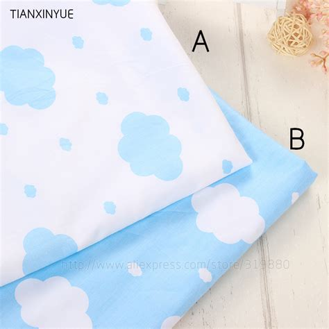 Diy Baby Pillow by Many Size Blue Clouds Fabric Diy Baby Pillow Patchwork