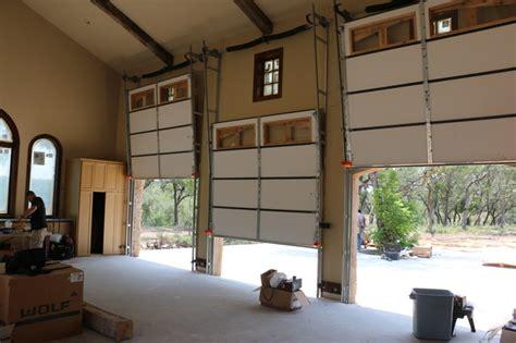 vertical garage door opener vertical lift real wood overhead garage doors classico