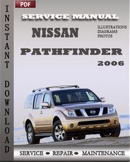 manual repair free 2006 nissan pathfinder regenerative braking nissan pathfinder 2006 workshop repair manual repair service manual pdf
