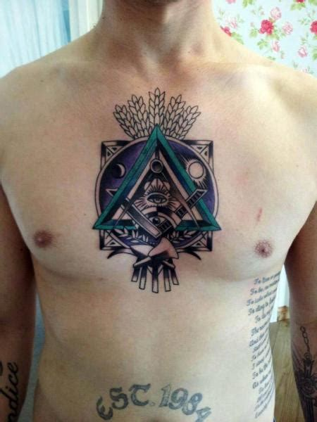 chest tattoo abstract chest abstract tattoo by tattoo b52