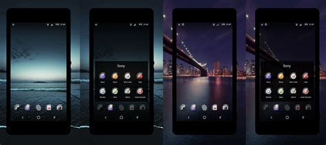 themes xperia launcher install icon pack glass 2 for xperia home launcher