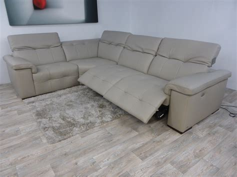 leather editions avant garde electric reclining corner