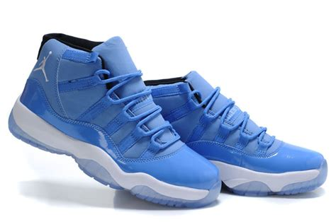 light blue air jordans sale air 11 retro blue white for mens