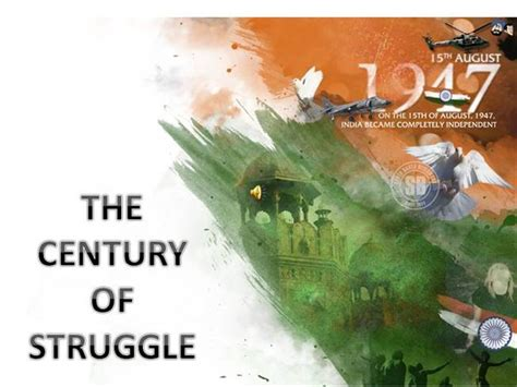 The India Struggle Authorstream Indian Army Ppt Template Free