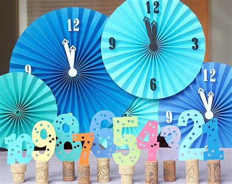 New Year Handmade Decoration - top 32 sparkling diy decoration ideas for new years
