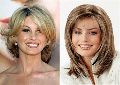 shoulder length hairstyles for older women with fine hair medium length hairstyles for older women with fine hair